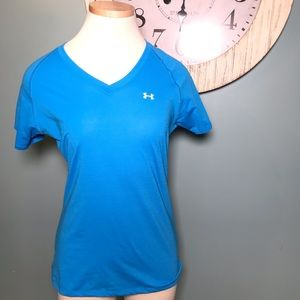 Under Armour v neck athletic  tee size S